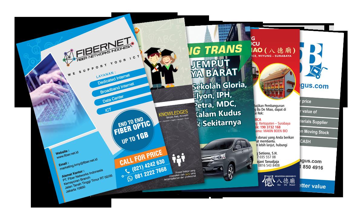 Desain Brosur & Leaflet